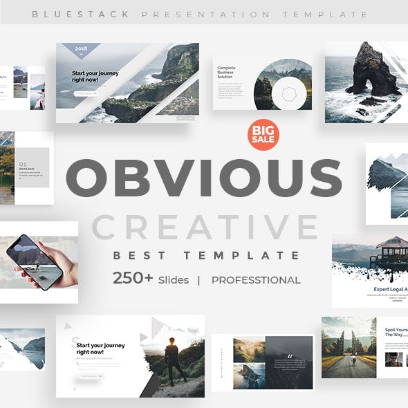 Obvious Creative Powerpoint Template