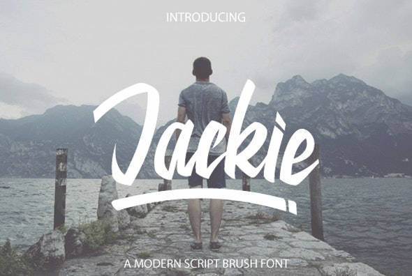 Jackie Script Fonts - Script Fonts