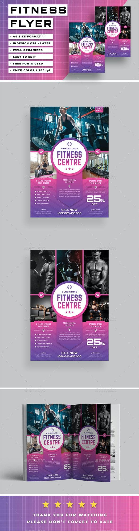 Gym Flyer v.02 - Sports Events