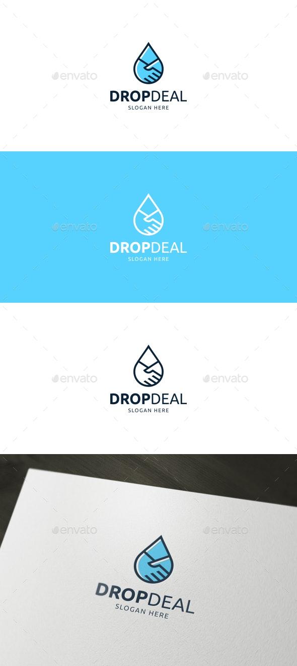 Drop Deal Logo - Symbols Logo Templates