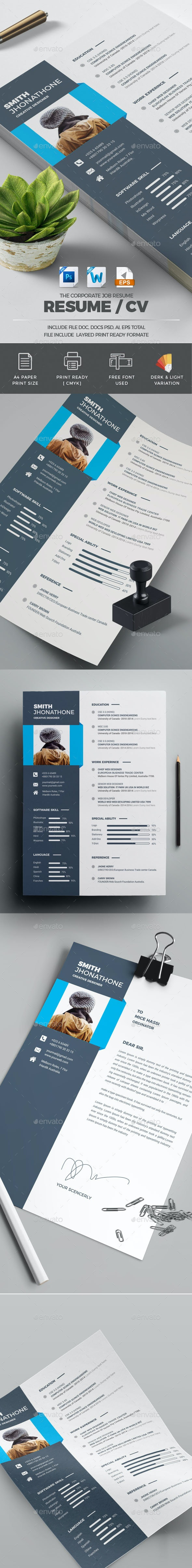 Ms Word Resume Template - Resumes Stationery