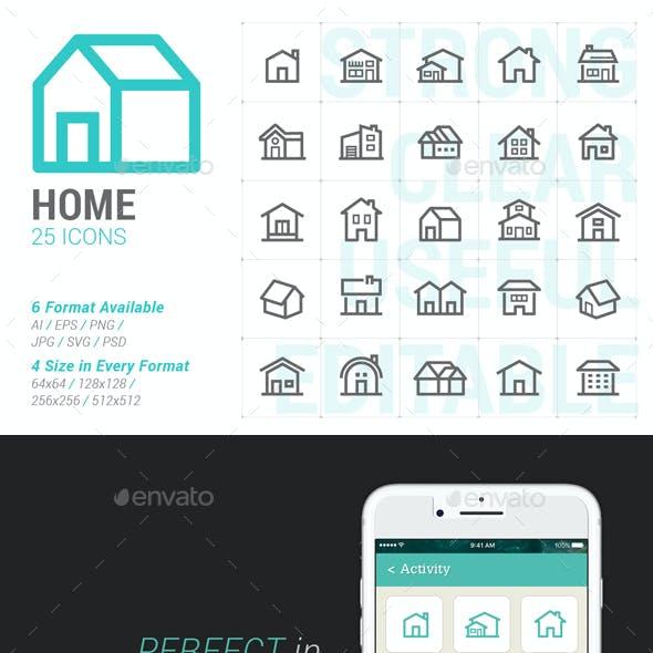 Home Mini Icon