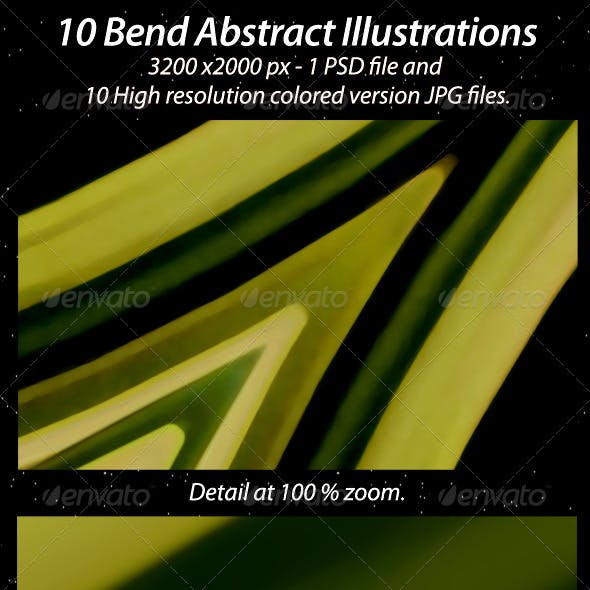 10 Bend Abstract Illustration