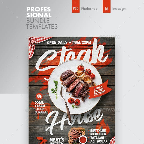 Restaurant Flyer Bundle Templates