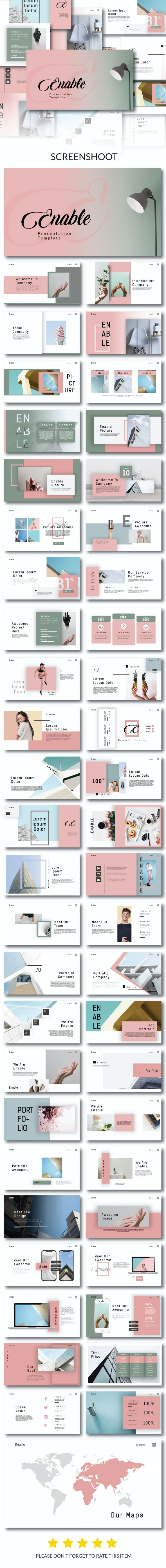 Enable Creative - Powerpoint Template - PowerPoint Templates Presentation Templates