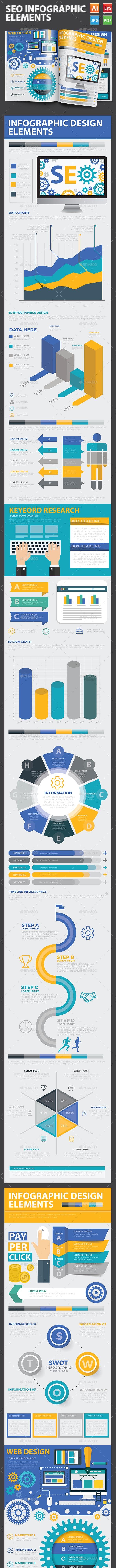 SEO Search engine Infographics - Infographics