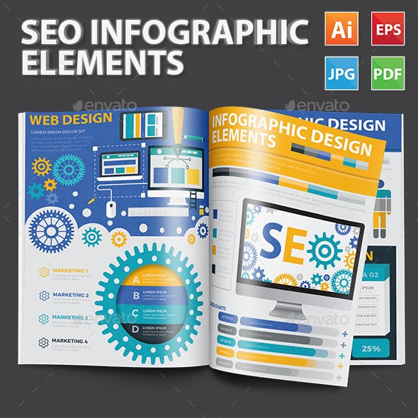 SEO Search engine Infographics