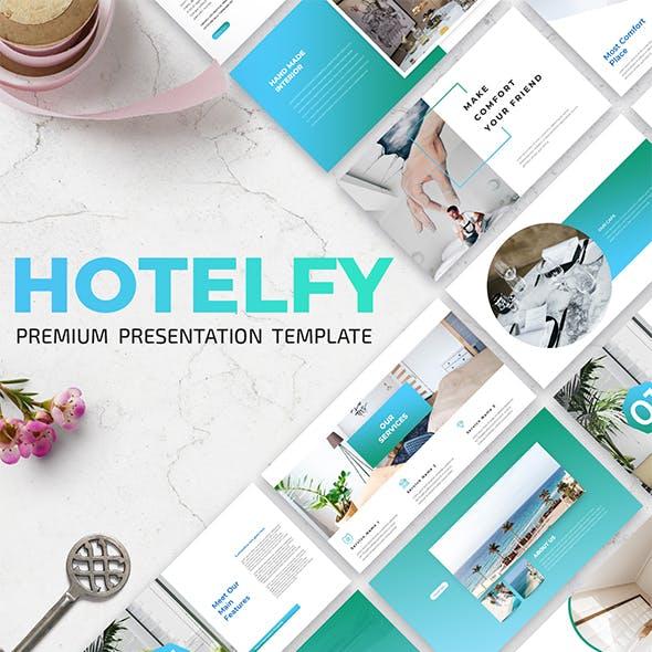 Hotelfy - Premium Keynote Presentation