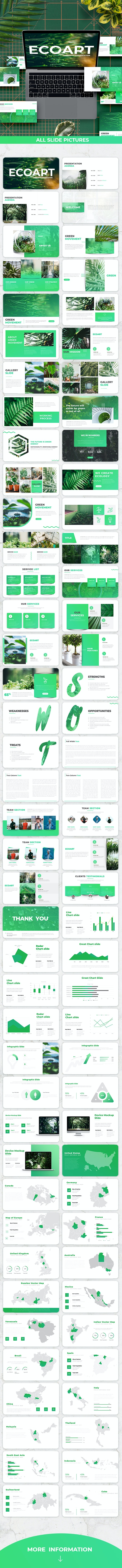 EcoArt - Presentation Template - Nature Keynote Templates