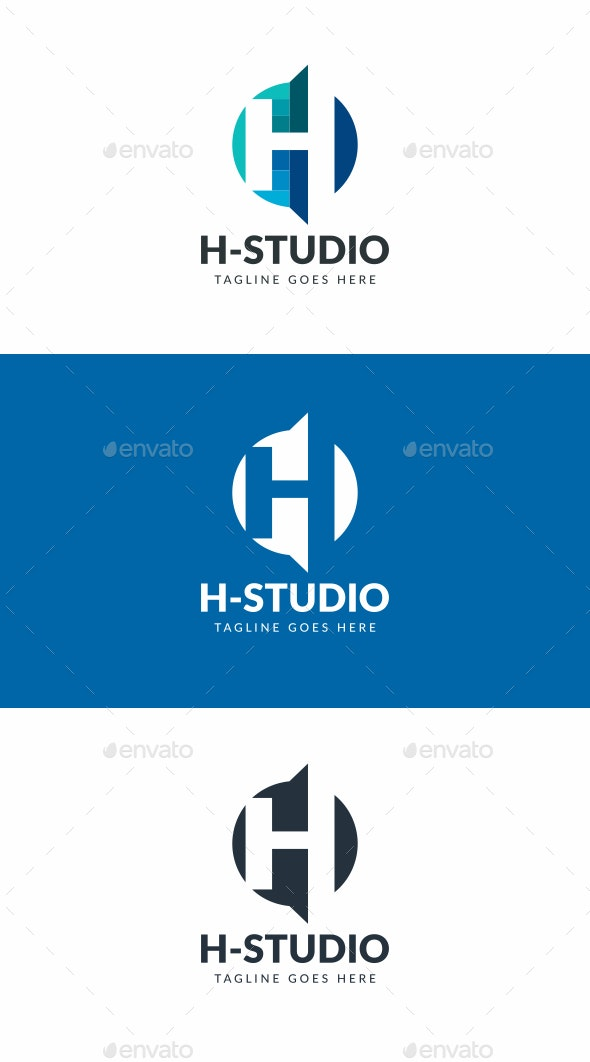 H Logo - Letters Logo Templates