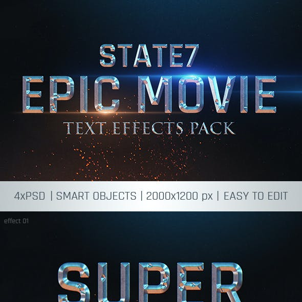 Cinematic Text Effect