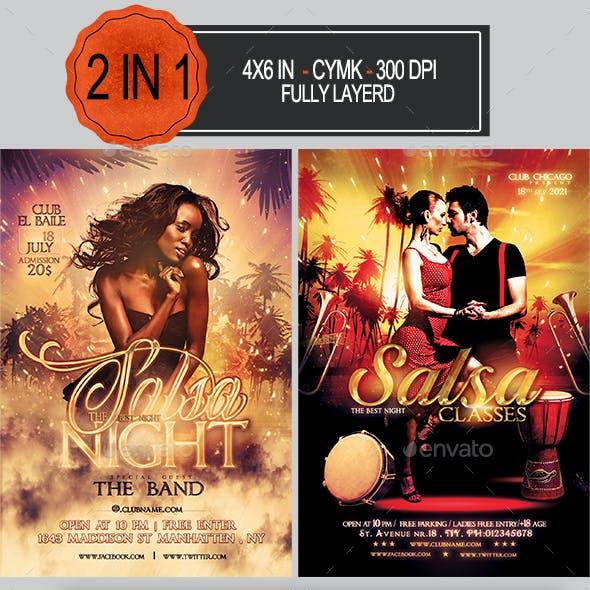 Salsa Party Flyer Bundle