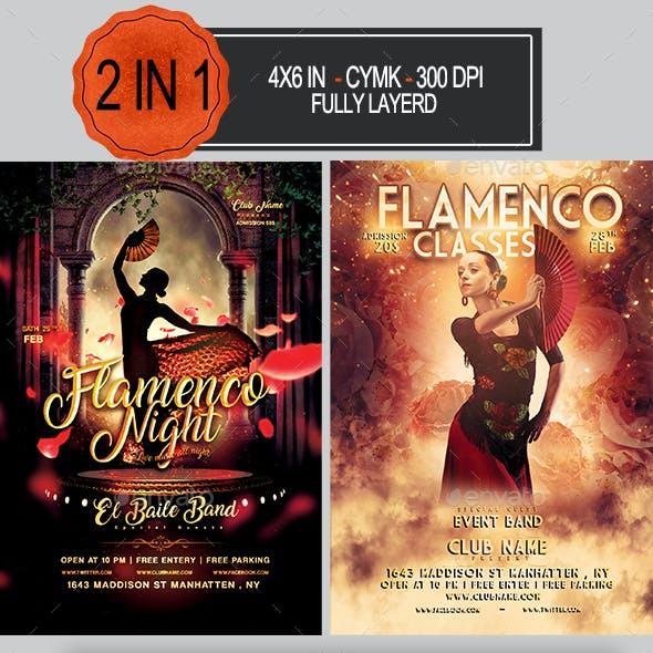 Flamenco Flyer Bundle