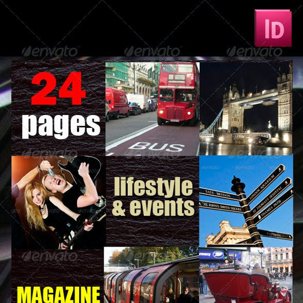 24 Pages Lifestyle & Events Magazine Version Two