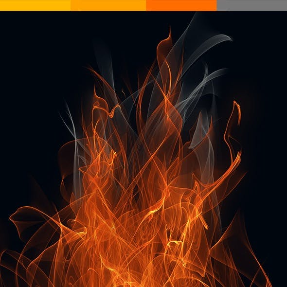 Fire & Flames Brushes High Quality