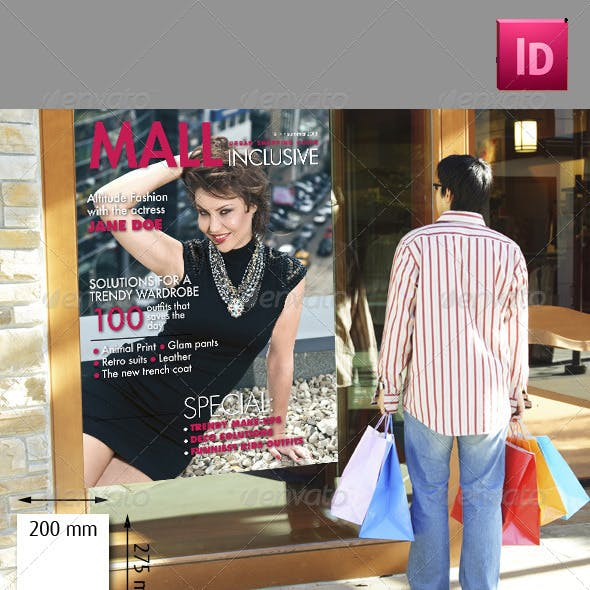 24 Pages Shopping Mall Magazine Take Two