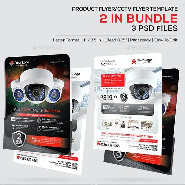 Product Flyer - CCTV/Corporate Promotion Flyer Bundle