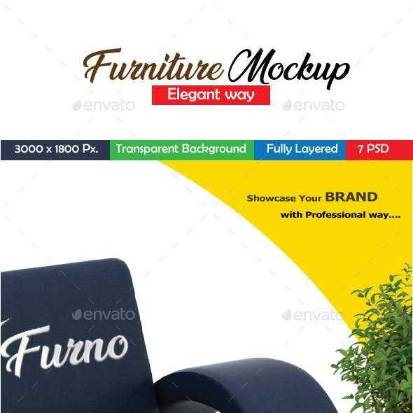 Furniture Mockup