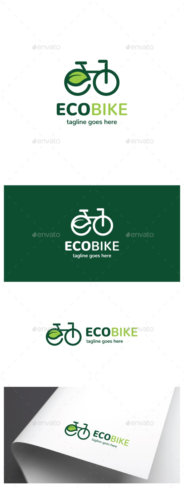 Eco Bike Logo - Objects Logo Templates