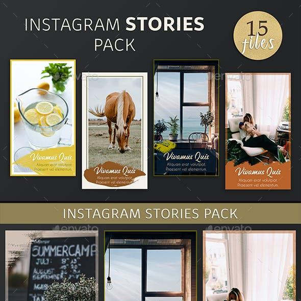 Instagram Stories Pack