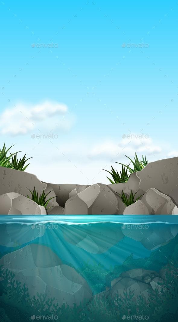 Water Scene - Landscapes Nature