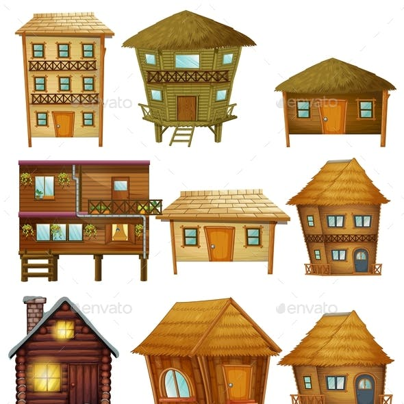 Different Designs of Wooden Cabins