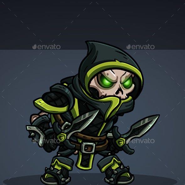 2D Character - Skeleton Bandit