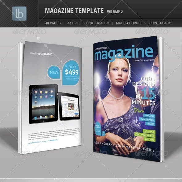 Magazine Template | Volume 2