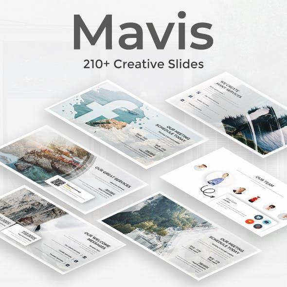 Mavis Premium Powerpoint Template