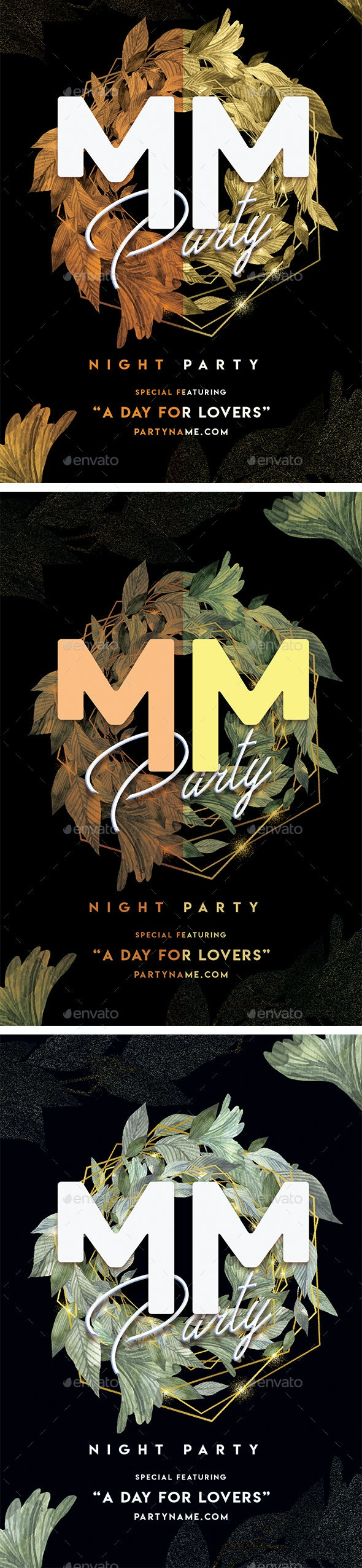 MM Party Flyer - Events Flyers