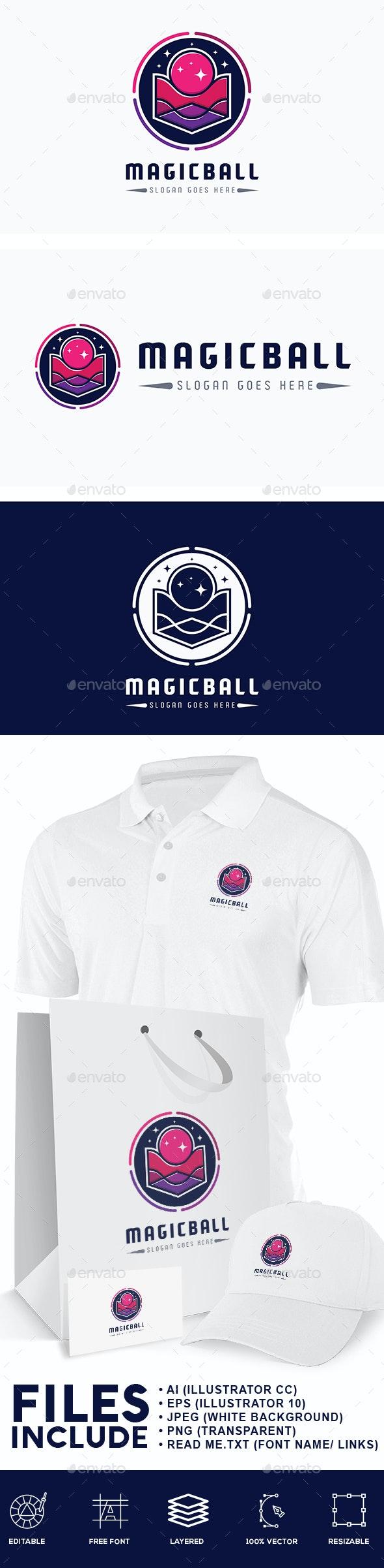 Magic Ball Logo