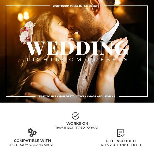 21 Wedding Lightroom Presets