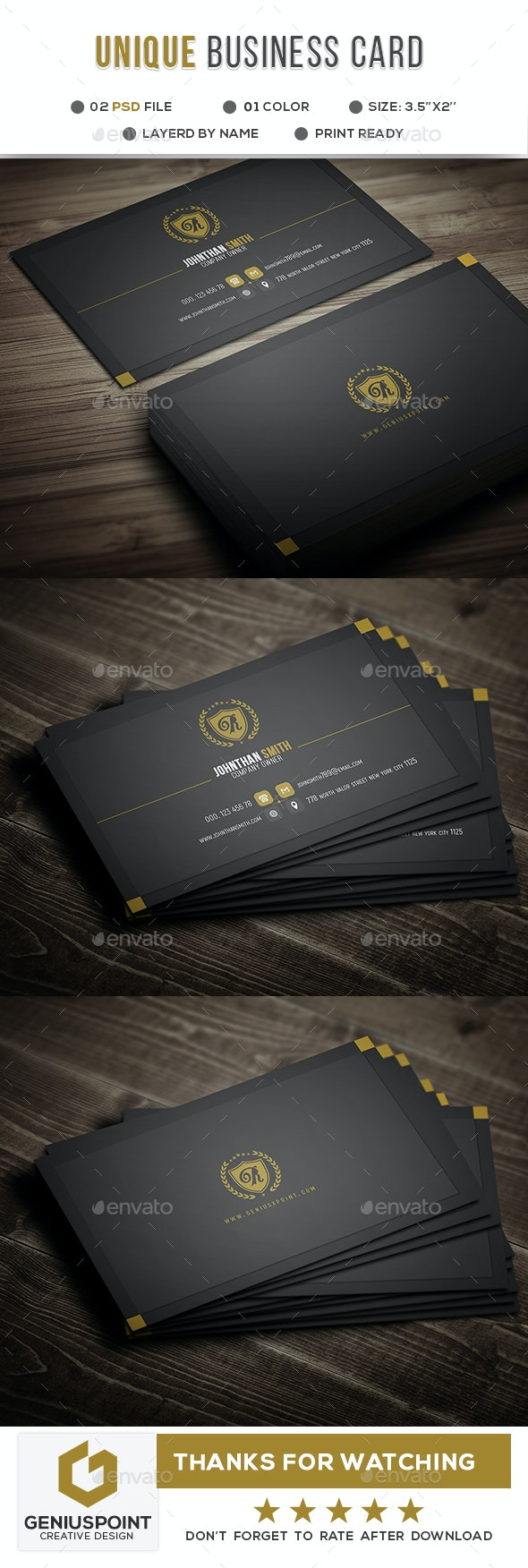 Shooter Business Card - Business Cards Print Templates