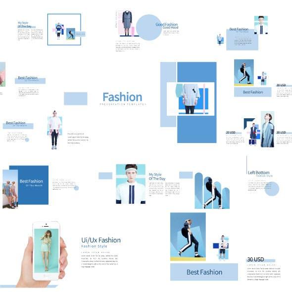 Fashion - Creative Keynote Presentation Templates