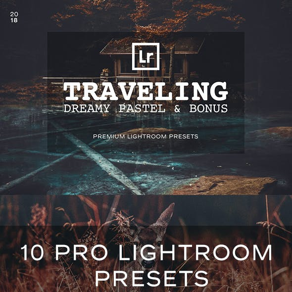 Pastel Travel Lightroom Presets