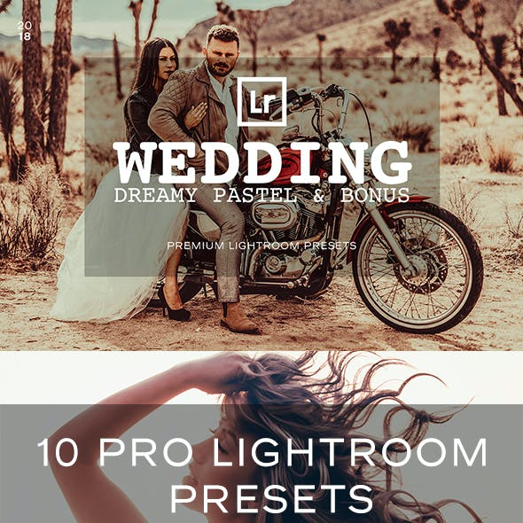 Pastel Wedding Lightroom Presets