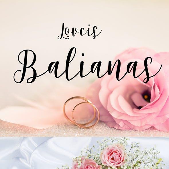 Balianas Script Font