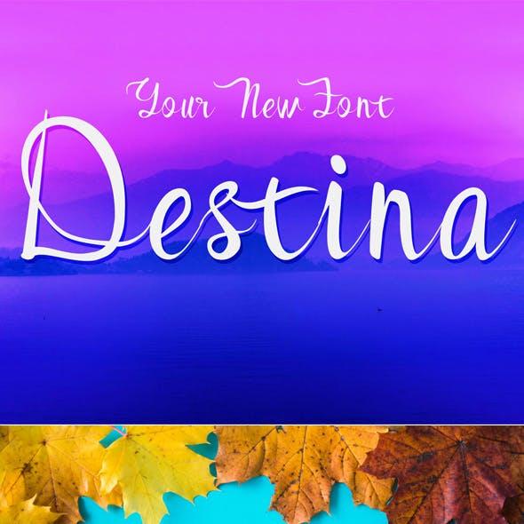 Destina Script Font