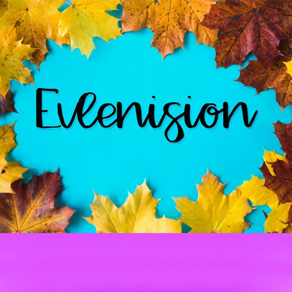Evlenision Typeface