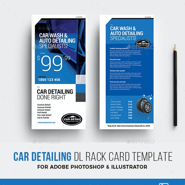 Car Detailing DL Card