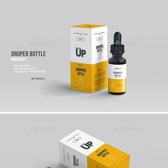 Dropper Bottle Mockups 01