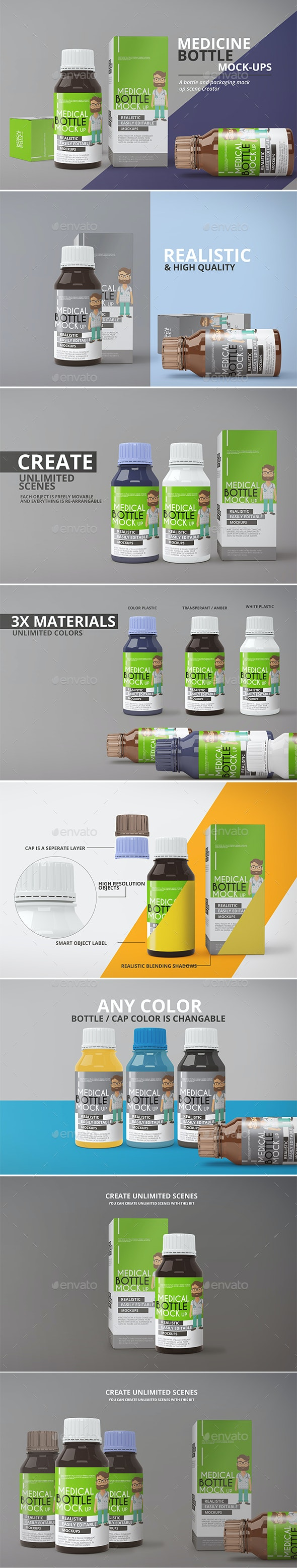 Medicine Bottle Mockup - Miscellaneous Packaging