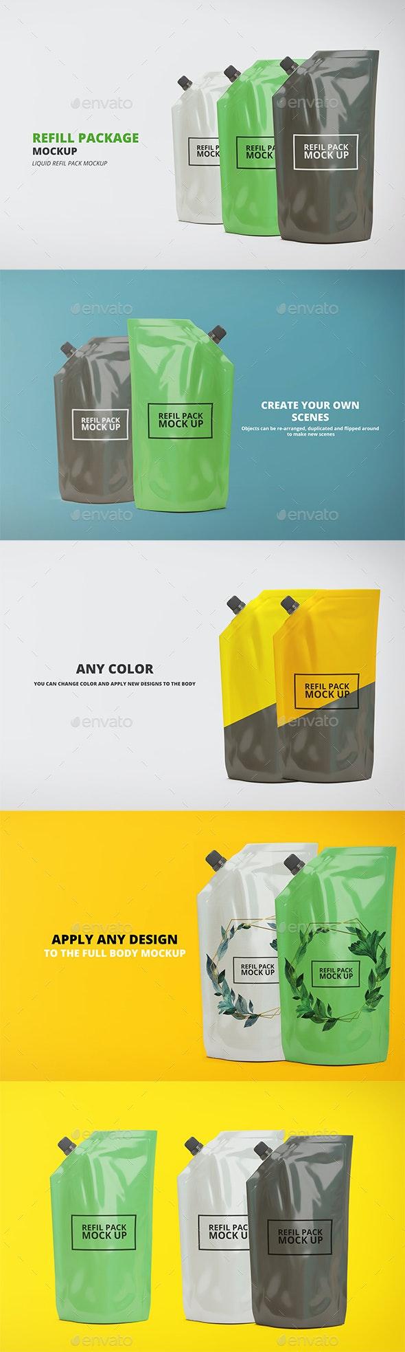 Refill Package - Beauty Packaging