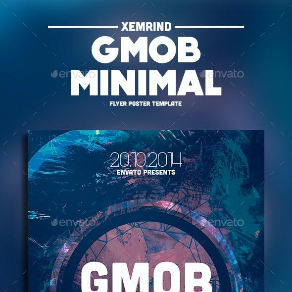 GMOB Minimal Flyer Template