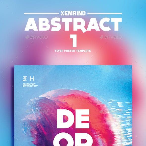 Abstract 1 Flyer Template