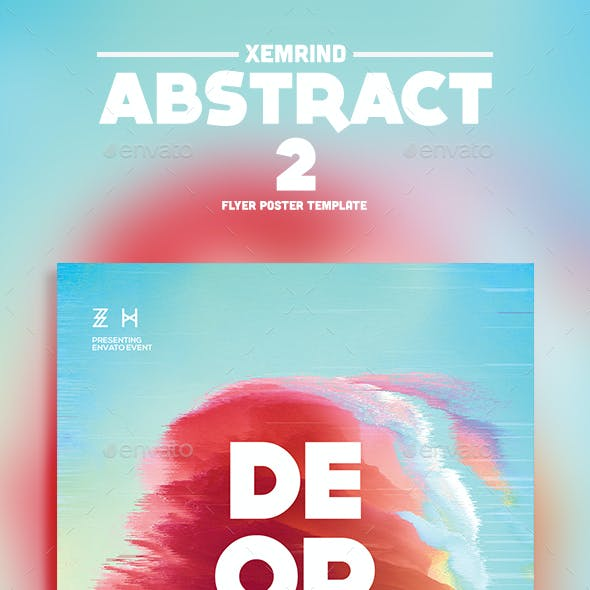 Abstract 2 Flyer Template