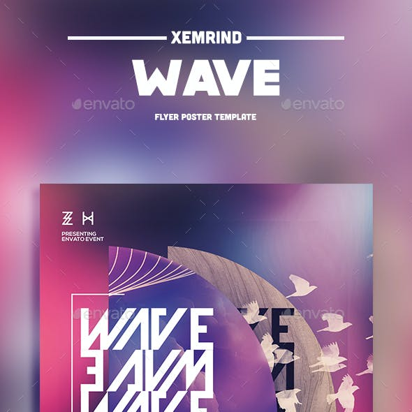 Wave Flyer Template
