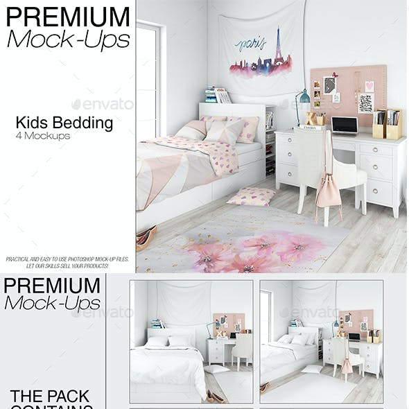 Kids Room - Bed Set, Tapestry & Rug