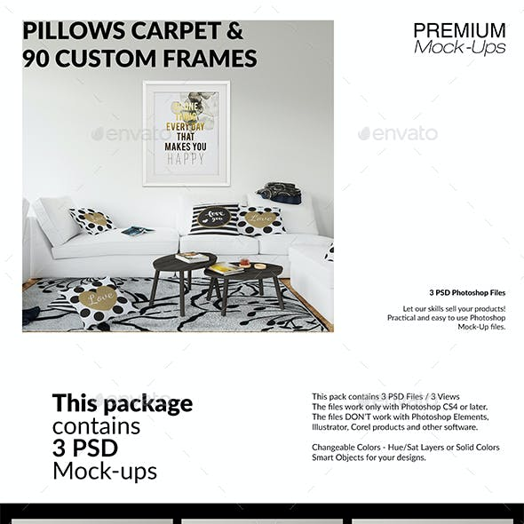 Rug Mockup Graphics Designs Templates From Graphicriver