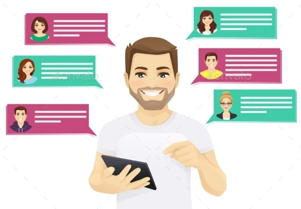 Online Chat - Communications Technology